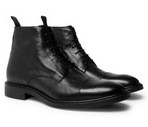 Jarman Cap-toe Leather Boots
