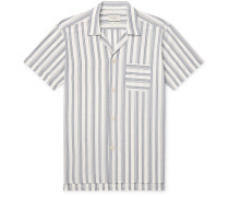 Striped Organic Cotton Pyjama Shirt