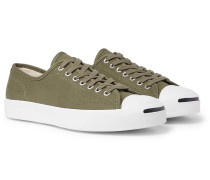 Jack Purcell Ox Rubber-trimmed Canvas Sneakers - Green
