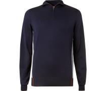 Virgin Wool Half-Zip Golf Sweater