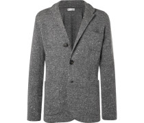 Donegal Virgin Wool-blend Cardigan