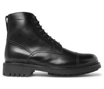 Joseph Polished-leather Boots - Black