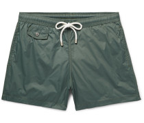 Boxer Mid-length Shell Swim Shorts
