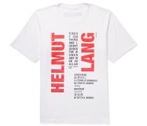 Slim-fit Logo-print Cotton-jersey T-shirt - White