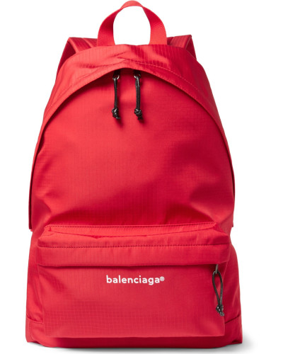Explorer Ripstop Backpack - Red