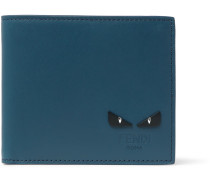 I See You Leather Billfold Wallet - Blue