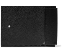 Sartorial Cross-Grain Leather Cardholder