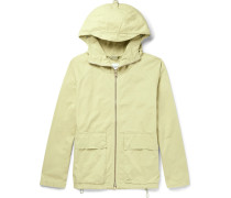 Garment-dyed Cotton-twill Hooded Parka