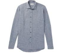 Herringbone Woven Shirt