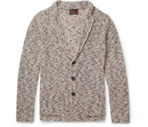 Mouline Mélange Knitted Cardigan