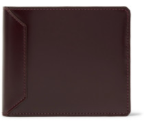 Polished-leather Billfold Wallet