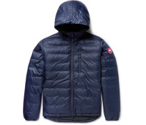Lodge Packable Shell Hooded Down Jacket