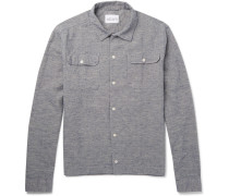Slub Cotton And Linen-blend Shirt