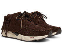 FBT Prime Runner Suede and Mesh Sneakers