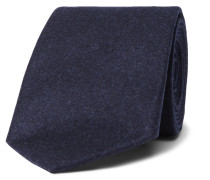 6.5cm Wool, Silk And Cashmere-blend Tie