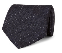 8cm Pin-dot Silk-jacquard Tie
