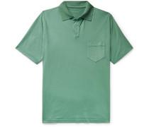 Stretch-Cotton Jersey Polo Shirt