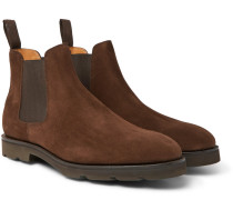 Lawry Suede Chelsea Boots - Brown
