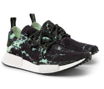 Nmd_r1 Marble-print Primeknit Sneakers
