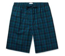 Barker Checked Cotton-Poplin Pyjama Shorts