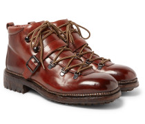 Alvis Polished-leather Boots