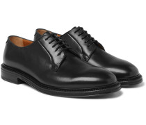 Lucien Polished-leather Derby Shoes