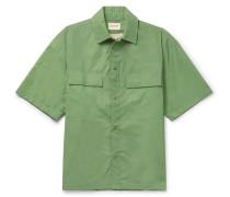 Iridescent Nylon Overshirt