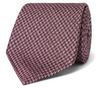 8cm Puppytooth Silk-Jacquard Tie