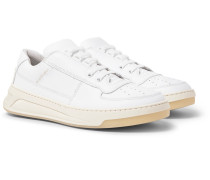 Perey Leather Sneakers - White
