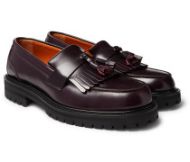 Jacques Fringed Leather Loafers