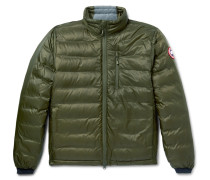 Lodge Packable Quilted Ripstop Shell Down Jacket - Green