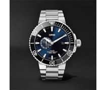Aquis Small Second Date Automatic 45.5mm Stainless Steel Watch