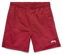 Stock Water Slim-fit Shell Shorts