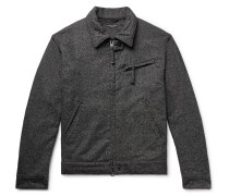 Wool-blend Jacket - Gray