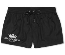 Logo-Print Short-Length Swim Shorts