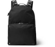 Valentino Garavani Rockstud Logo Webbing-Trimmed Nylon Backpack