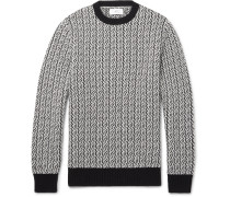 Textured Merino Wool Sweater