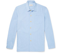 Cotton Pyjama Shirt - Blue