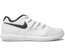 Air Zoom Vapor X Rubber And Mesh Tennis Sneakers - White