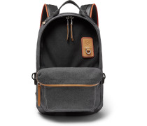 Eye/LOEWE/Nature Leather-Trimmed Canvas Backpack