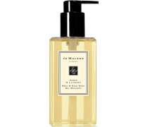 Amber & Lavender Body & Hand Wash, 250ml - Colorless