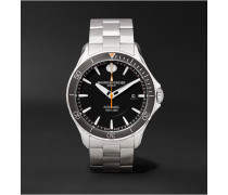 Clifton Club Automatic 42mm Stainless Steel Watch - Black