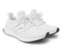 Ultraboost Rubber-trimmed Primeknit Sneakers - White