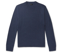 Donegal Merino Wool-Blend Sweater