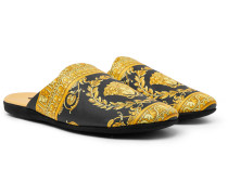Printed Cotton Slippers