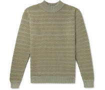 Wool Mock-Neck Sweater