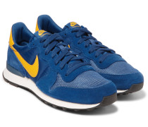 Internationalist Suede, Shell And Mesh Sneakers