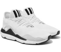 Saikou Suede-trimmed Primeknit Sneakers