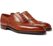Reuben Leather Brogues - Tan
