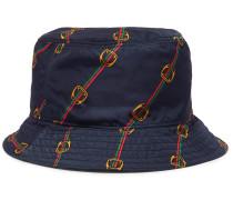 Reversible Printed Shell Bucket Hat